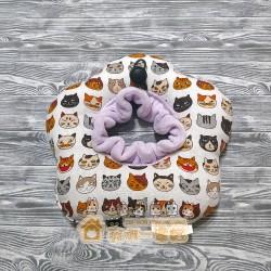 貓咪甜甜圈頭套 - 調皮貓