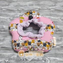 貓咪甜甜圈頭套 - 貓咪娃娃機 (粉紅)