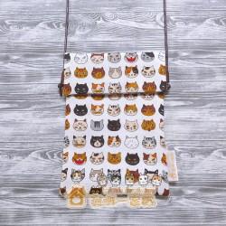 貓咪斜背包 - 調皮貓